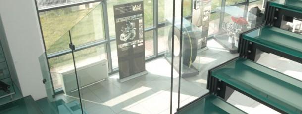 escaleras inox-cristal