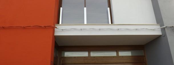 balcones cristal